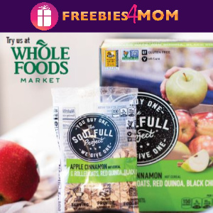 🥣Free Soulfull Project Cereal at Whole Foods