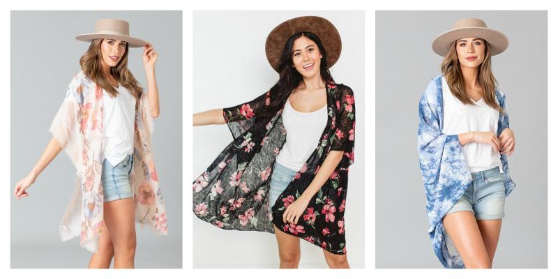☀️50% off Kimonos, Prices Start at $6