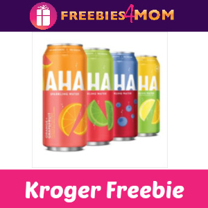 🍋Free AHA Sparkling Water at Kroger