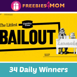 🍋Sweeps Country Time Littlest Bailout