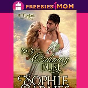 ❤️Free eBook: No Ordinary Duke ($3.99 value)