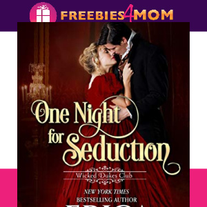 💋Free eBook: One Night for Seduction ($3.99 value)
