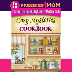 🍲Free eBook: Cozy Mysteries Cookbook ($3.99 value)
