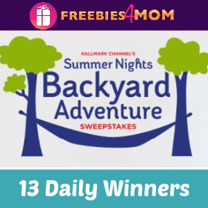 🌳Sweeps Hallmark Channel Backyard Adventure