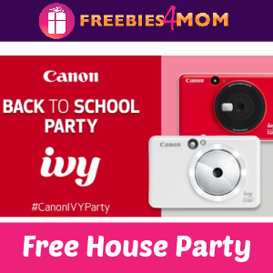 📷Free Canon Ivy House Party