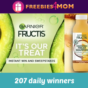 🥑Sweeps Garnier It's Our Treat (207 daily winners)