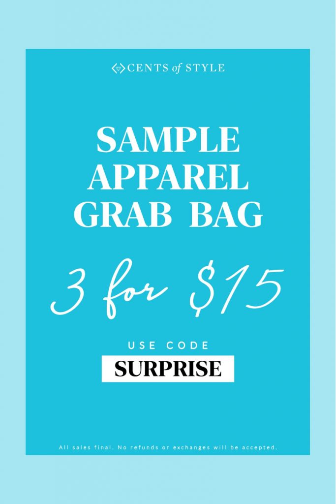 🛍3 Piece Apparel Grab Bag Only $15