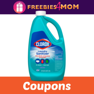 💦Clorox Coupons & *New* Clorox Laundry Sanitizer