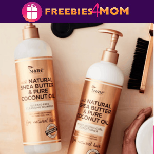🥥Free Sample Suave Professionals for Natural Hair