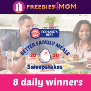 "🍳Sweeps Eggland's Best ""Better Family Meals"" Instant Win"