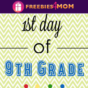 📚Free Printable First Day of School Signs for Grades Kindergarten thru 12th