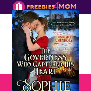 ❤️Free eBook: The Governess Who Captured His Heart ($0.99 value)