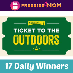 🚴‍♀️Sweeps Nature Valley Ticket to the Outdoors