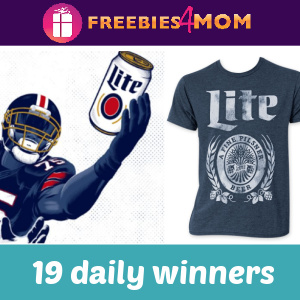 🏈Sweeps: Miller Lite National 2020 Football (19 daily winners)