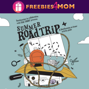 🗺️Free Smithsonian Road Trip Theme Activity Guide