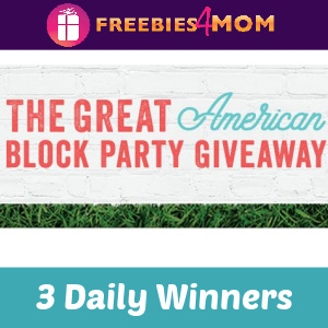 🍔Sweeps Beringer Spring Block Party (3 Daily Winners)