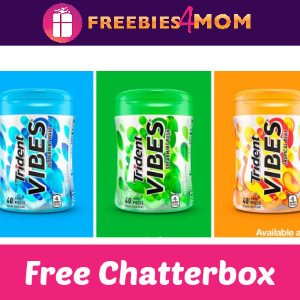 🍬Free Trident VIBES Gum Chatterbox