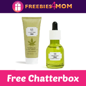 🧼Free The Body Shop CBD Oil & Mask Chatterbox