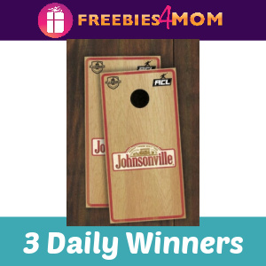☀️Sweeps Johnsonville Cornhole Board Text to Win