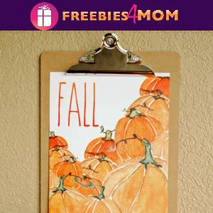 🍂Free Printable: Fall Pumpkins Wall Art