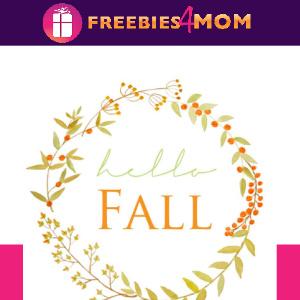 🍂Free Fall Printable:  Hello Fall Berry Wreath