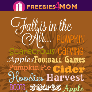 🏈Free Fall Printable:  Fall Is In The Air
