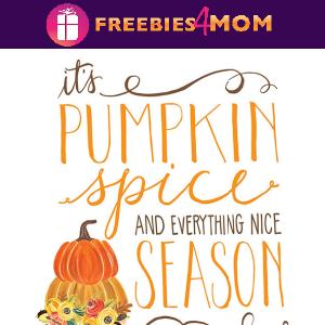 🍂Free Fall Printable: Pumpkin Spice Season