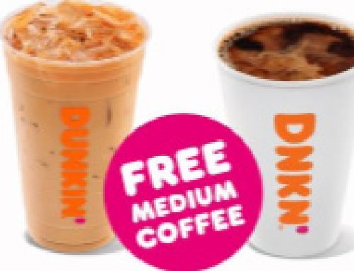 ☕️Free Coffee at Dunkin' Sept. 29 (with purchase)