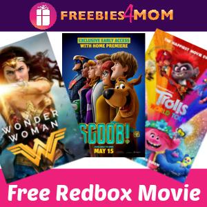 📽Free Redbox Movie Rental Today Only