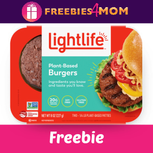 🍔Free Lightlife Plant Based Burgers