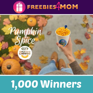 🎃Sweeps Kraft Pumpkin Spice Mac & Cheese (Twitter Users)
