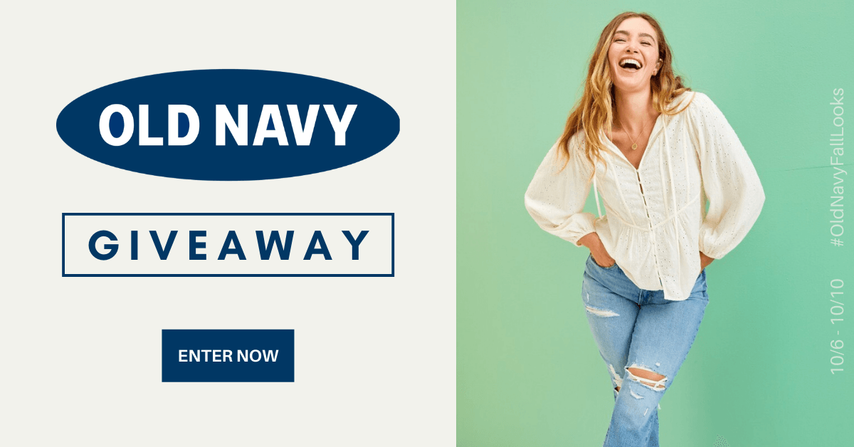 👚Win a $100 Gift Card From Old Navy