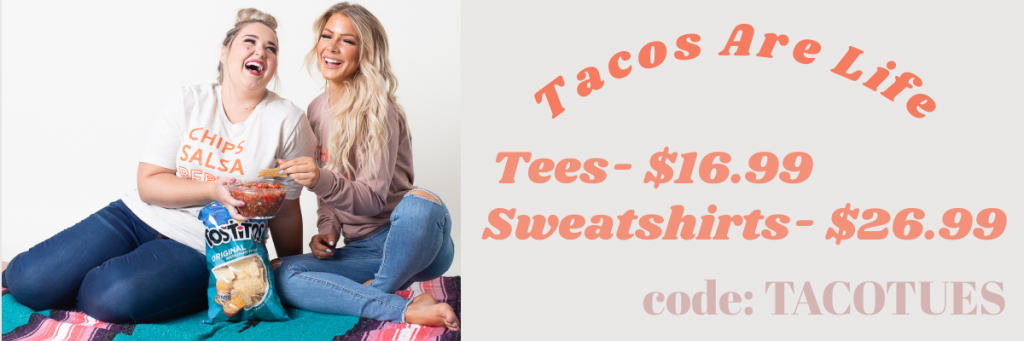 🌮Taco Graphic Tops $16.99-$26.99