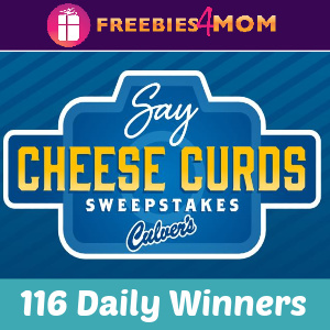 🧀Sweeps Culver's Say Cheese Curds