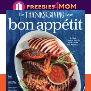🍨Bon Appetit Magazine $4.44