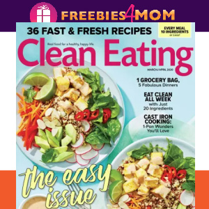 🥗 Clean Eating Magazine $6.49