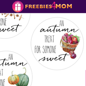 🌰Fall Free Printable: Autumn Sweets Tags