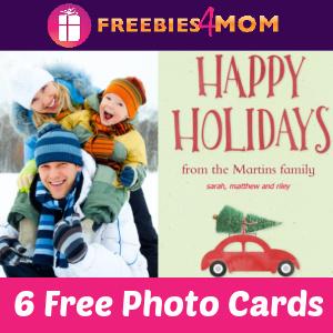 📸6 Free Photo Cards at Walgreens ($20.99 value)