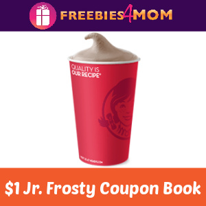 🥤Wendy's Jr. Frosty Coupon Book Only $1