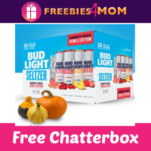 🦃Free Chatterbox Bud Light Seltzer (NC, SC and VA)