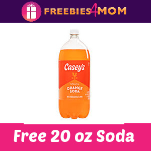 🤠Free 20 oz Bottle Soda at Casey's