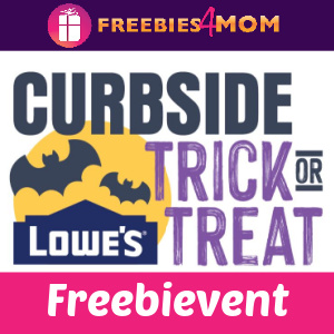 🎃Free Curbside Trick or Treat at Lowe's