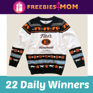 🎄Sweeps Tito's Be a Giver (2,000 Winners)