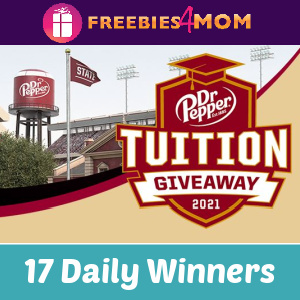 🎓Sweeps Dr. Pepper Tuition Giveaway (ends 10/31)