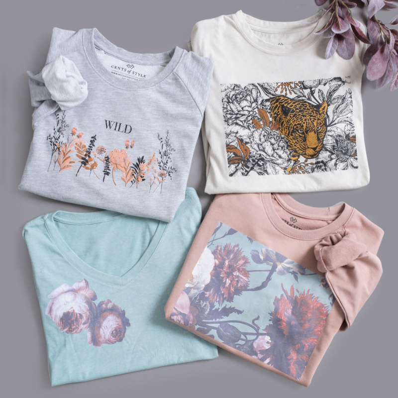 🍁Vintage Fall Floral Graphics Starting at $16.99