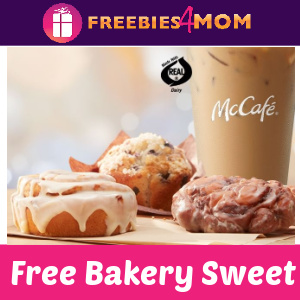 🎉Free Bakery Sweet with Coffee Purchase at McDonald's