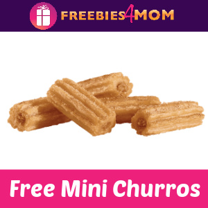 🎁Free 5 Piece Mini Churros at Jack in the Box