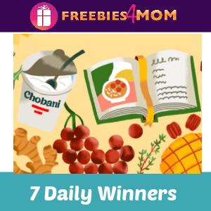 📖Sweeps Chobani Greek Yogurt Week (Win a Cookbook)