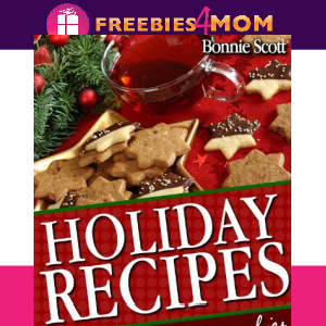 🥧Free eBook: Holiday Recipes ($3.99 value)