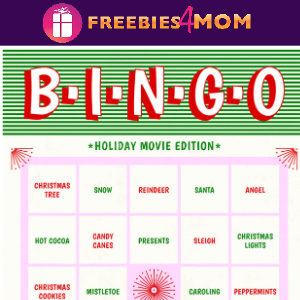 🎅Free Christmas Printable: Movie Bingo